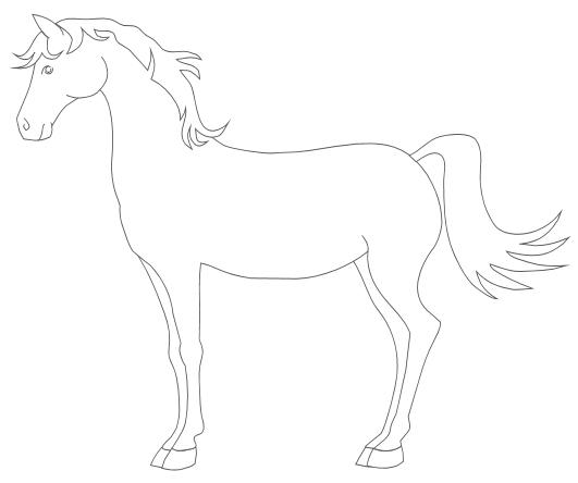 Pferde Zeichnen Leicht Für Kinder Hindu Tube
