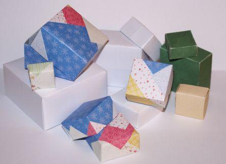 Bastelanleitung Schachteln Falten Schachteln Nic Bastelt
