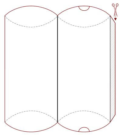 bastelanleitung geschenkschachtel falten schachteln nic bastelt. Black Bedroom Furniture Sets. Home Design Ideas