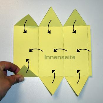Bastelanleitung Dreieckige Schachtel Schachteln Nic Bastelt