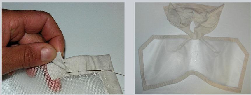 bastelanleitung fliegenmaske mit ohrenschutz f r. Black Bedroom Furniture Sets. Home Design Ideas